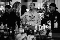 Ins Netz gegangen – Katja Kupfer im künstlerischen Dialog mit den RB-Spielern Fabio Coltorti und Davie Selke.
